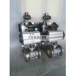 Pneumatic Ceramic Ball Valve