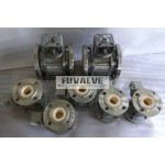 Bare Shaft Ceramic Ball Valve