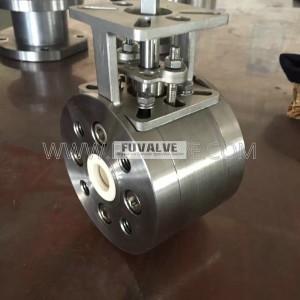 DIN Standard PN40 Ceramic Ball Valve