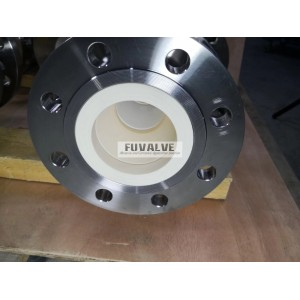 Fuvalve ceramic ball valve for pneumatic conveying Lithium powder (battery anode material)
