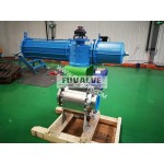 High performance electric ceramic ball valve