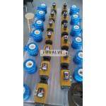 V-port Full Lined Ceramic Ball Valve for paper mill industry