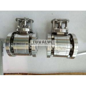 Class 300lb Ceramic ball valve