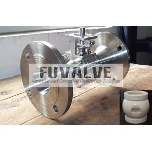 Half-Lined Ceramic Ball Valve(Strengthened valve body)
