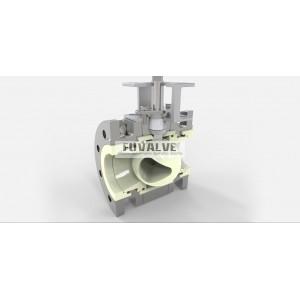 V-port Ceramic Ball valve