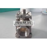 3-pcs Ceramic Ball Valve(Threaded end)