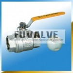 2-pcs Ceramic Ball valve(Threaded end)