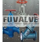 FEP Lined Globe Valves