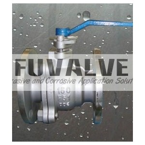 2 pcs Cast Steel Floating Ball Valve