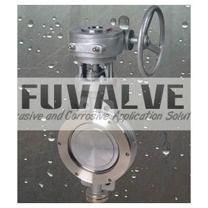 Triple Eccentric butterfly valve
