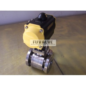 High-temperature(550 Deg C) Ceramic ball valve
