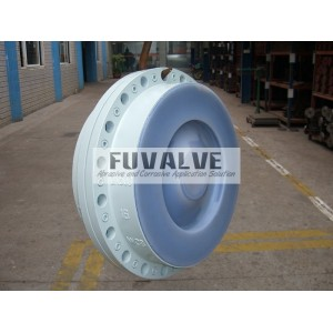 DN500 FEP lined Check valve