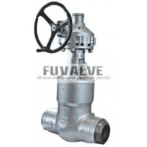 Pressure seal gate valve Class 2500LB