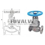 ANSI Bellows sealed globe valve