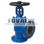 Angle type bellow sealed globe valve