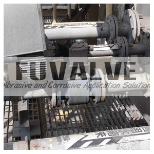 Ceramic ball valve for Flue Gas Desulfurization(FGD valve)