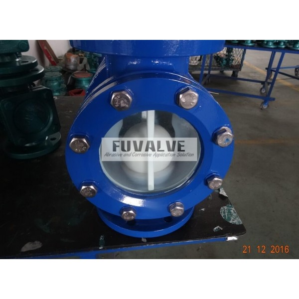 Sight Glass Ball Check Valve