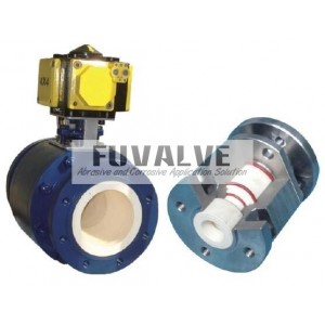 Ceramic valves for Powder Pneumatic Conveying